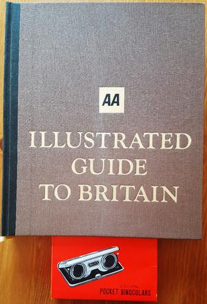 """Readers Digest """"AA Illustrated Guide to Britain"""" and Pocket Binoculars"""