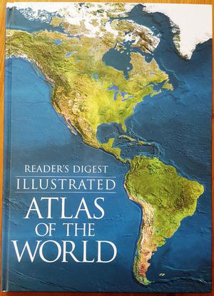 "Readers Digest ""Illustrated Atlas of the World"""