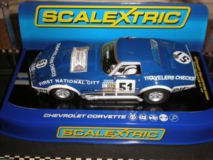 """Scalextric Chevrolet Corvette L88 """"Le Mans """" - New Boxed"""