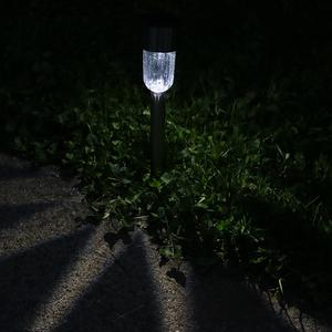 Sunnydaze Set of 6 Outdoor Solar Garden Path LED Landscape