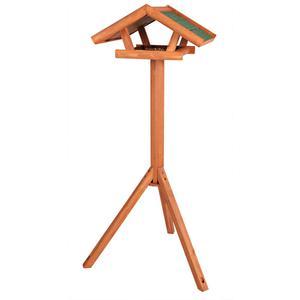 """TRIXIE Standing Bird Feeder """"Natura"""" 46x22x44 cm Brown"""