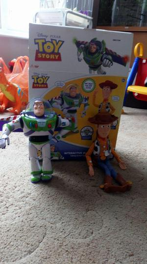 WOODY AND BUZZ TOY STORY TOYS