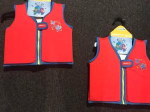 2 new speedo float vests kids