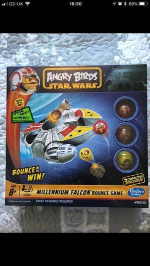 Angry birds Star Wars Millennium Falcon Game - NEW