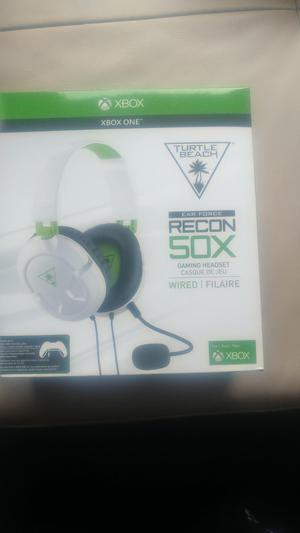 BRAND NEW IN BOX Turtle beach ear force recon 50x brand new