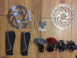 Bike accessories all in good condition