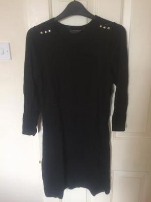 Black jumper dress size 10