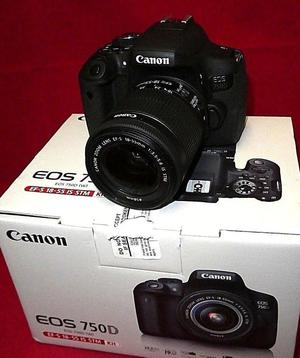 Canon EOS 750D Kit with mm f/4-5.6 IS STM Lens Camera