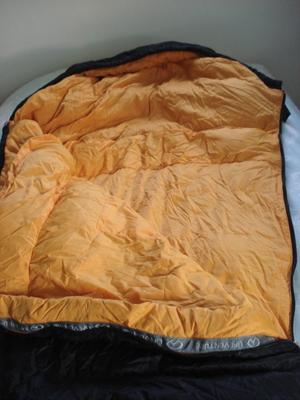 DOWN 3 SEASON SLEEPING BAG