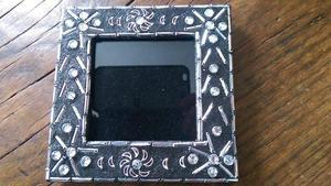 Household Black glitter sequin Photo Frame.