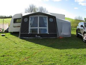 Isabella Magnum Porch Awning and Annexe
