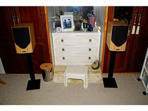 Mission M32i Stand Mount Hi Fi Speakers with Apollo Black