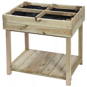Nature  Raised Vegetable Bed FSC Wood