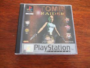 PLAYSTATION 1 TOMB RAIDER EXCELLENT CONDITION FREE P&P