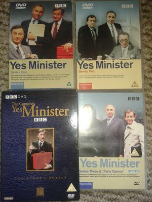 Yes Minister, The complete series, box set