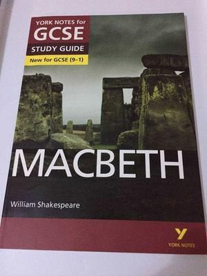 York notes for GCSE (9-1) 'Macbeth revision guide