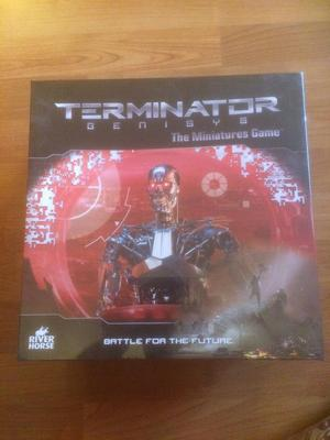 Brand new terminator miniatures war game bored game for sale