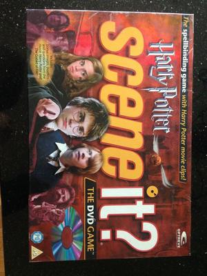 Harry Potter Scene It Board Game, goblet of fire, order of the Phoenix games