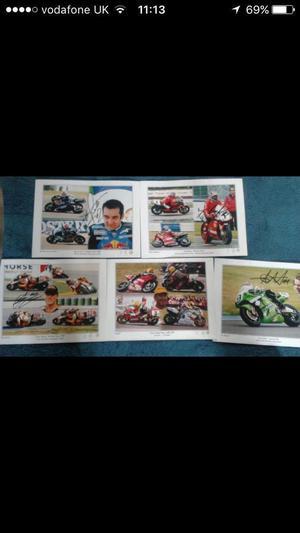Moto gp sports memorabilia
