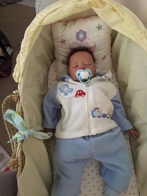 Boy reborn doll with clothes