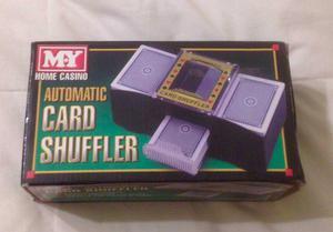 CASINO AUTOMATIC PLAYING CARDS SHUFFLER POKER ONE/TWO DECK CARD SHUFFLE SORTER