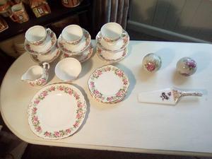 Colclough Enchantment Vintage Tea Service