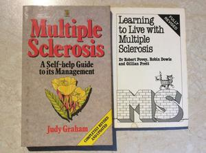 JOBLOT Multiple Sclerosis Books - price is for both NOT EACH
