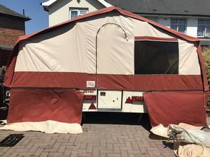 Pennine aztec trailer tent | Posot Class