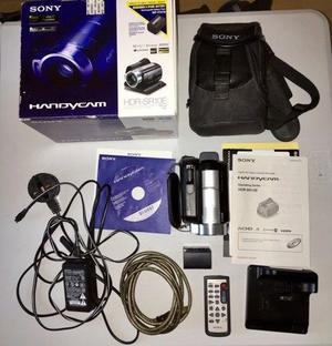 Sony Handycam HDR-SR10E video camera and accessories