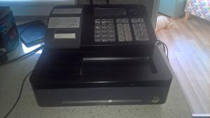 casio cash register for sale with till rolls and manuals