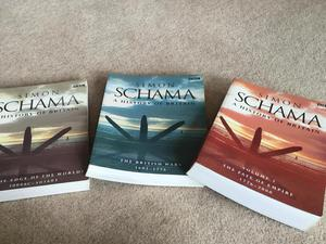 """3 books by Simon Schama on """"History of Britain"""""""