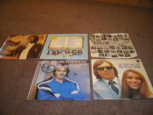 5 Lp's - Richard Clayman, The Hamlets, Peters & Lee, Johnny