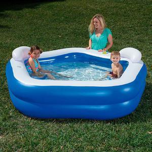 Bestway Kids' Play Pool Blue 213x207x69 cm