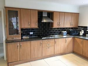Complete Kitchen units, fridge, oven and hob