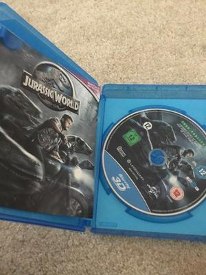 Jurrasic World in Blu Ray, 3D and Ultraviolet