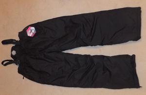 Ladies Black Ski Trousers / Salopettes, Brand New With Tags