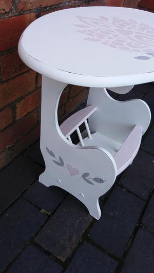 Shabby Chic Boho Side Table