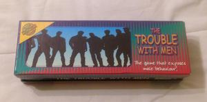 THE TROUBLE WITH MEN PARTY GAME FROM CHEATWELL GAMES. COMPLETE AND VGC.