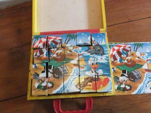 Walt Disney Mickey Mouse picture cubes