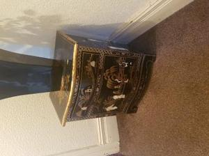 mother of pearl chinese cabinet