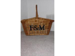 picnic basket in Westgate On Sea