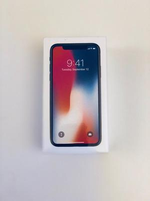 BRAND NEW SEALED IPHONE X - 256GB - SPACE GREY - RRP £