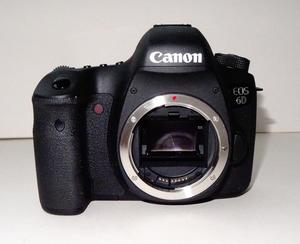 Canon 6D Body Only. Very Low Shutter Count