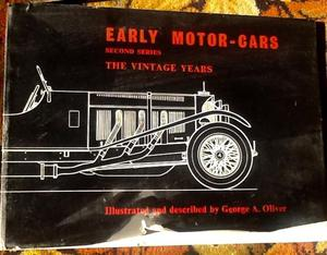 Early Motor-Cars  Antique book by George A Oliver