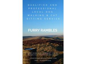 FURRY RAMBLES - Dog walking and cat sitting - New Mills,