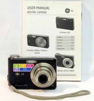 GE AMP Digital Camera - Black
