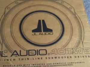 "JL audio 10""subwoofer 10tw3-d4 brand new in a box"