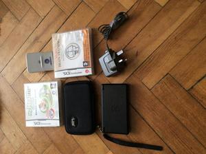 Nintendo DS Lite + 2 games + Case