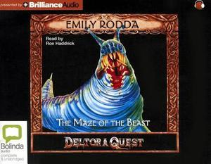 The Maze of the Beast by Emily Rodda (English) Compact Disc