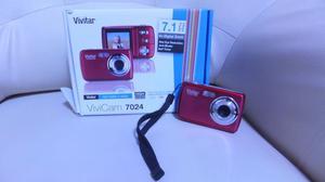 Vivitar Vivicam  Megapixel Digital Camera Red